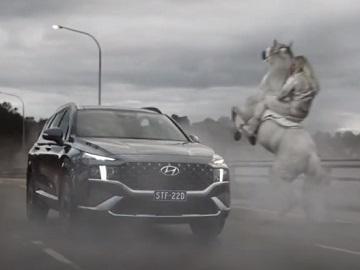 Hyundai Santa Fe Australia Commercial