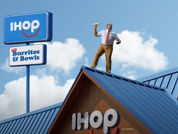 IHOP Breakfast Burritos & Bowls Commercial - Man on the Roof