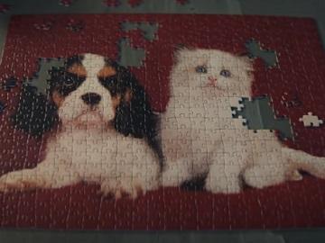 McDonald's UK Big Tasty Cat and Dog Puzzle Advert