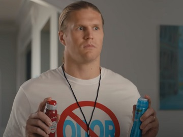 Secret x Old Spice Clay Matthews Odor Coach Commercial