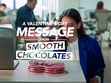 Teleflora Valentine's Day Box of Chocolates Tina Commercial