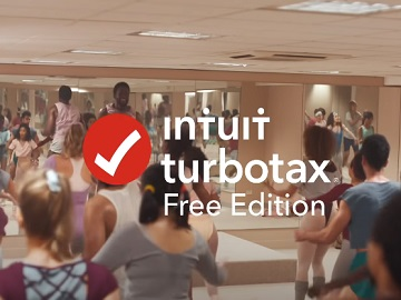 TurboTax Free Edition Dance Workout Commercial