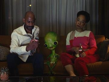 Coca-Cola Zero Sugar Alien Commercial