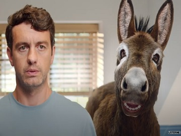 Listerine Donkey TV Advert