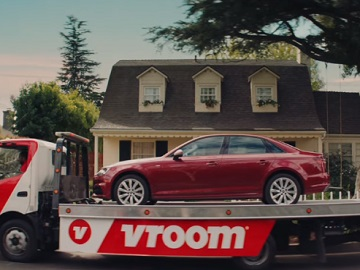 Vroom Super Bowl Commercial - Vroom Truck