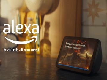 Amazon Alexa Pompeii Advert