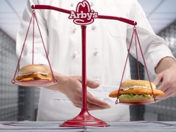 Arby's Crispy Fish Sandwich Fish Check Commercial