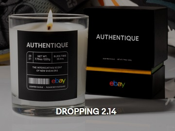Authentique by eBay Sneaker Candle Scent Commercial