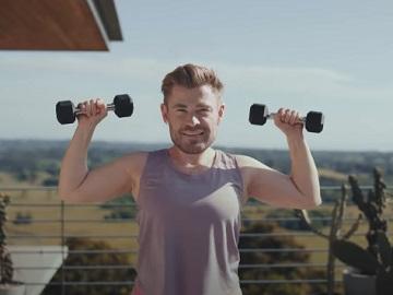 Centr Chris Hemsworth Commercial