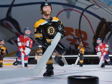 Dunkin' Donuts Hockey Arcade Figurines Commercial - Feat. David Pastrnak