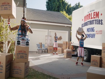 GEICO Harlem Globetrotters Moving Company Commercial