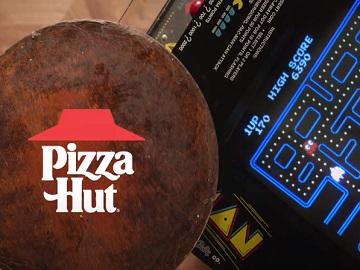 Pizza Hut $10 Tastemaker Pac-Man Commercial