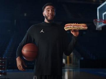 Subway Jayson Tatum Commercial