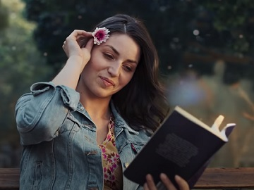 Flonase Commercial - Girl with a Flower in Her Hair
