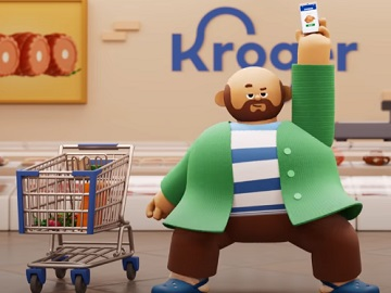 Kroger Commercial: Customers Dancing in Grocery Store