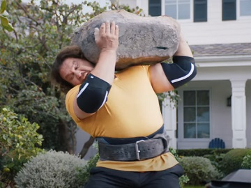 GEICO World's Strongest Man Martins Licis Commercial