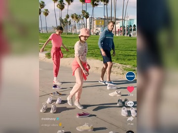 Old Navy Vintage Vibes Collection TikTok Commercial
