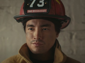 Old Spice Clinical Guy in Parents' Basement Firefighter Commercial