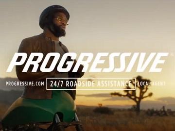 Progressive Motaur Flat Tire Karma Chameleon Commercial