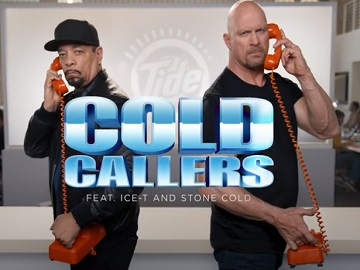Tide Cold Callers Ice-T & Steve Austin Calling Annie Murphy Commercial