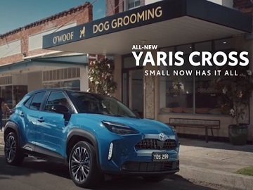 Toyota Yaris Cross Australia Dog Grooming Place Commercial