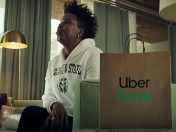 Uber Eats Leslie Jones March Madness Commercial