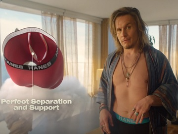Hanes Comfort Flex Fit Total Support Pouch Boxer Briefs Commercial - Feat.  Actor Tony Cavalero