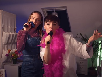 Very.co.uk Our House TV Advert Girls Singing