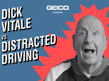GEICO Distracted Driving Dick Vitale Commercial