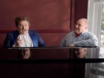 GoCompare Wynne Evans & Gio Compario Piano Advert