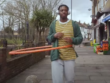 Lucozade Hula Hoop Commercial