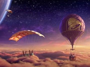 Taco Bell Beefy Potato-rito Hot-Air Balloon Commercial