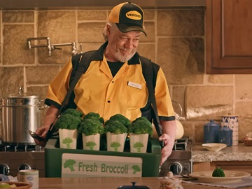 GEICO MLB At-Home Vendor Hot Broccoli Commercial