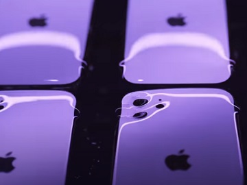 Apple iPhone 12 Purple Commercial