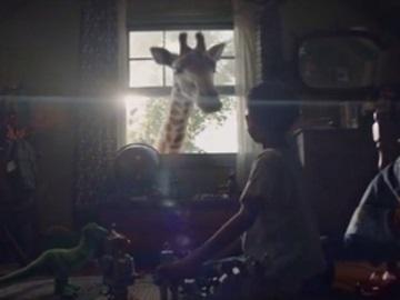 Disney World Theme Parks Giraffe Commercial