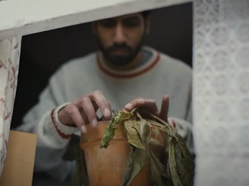 LinkedIn Indian Man with Plant Pot Commercial