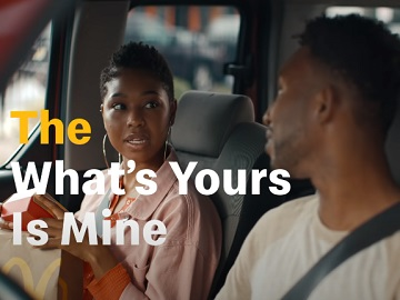 McDonald's What's Yours Is Mine Deal Commercial - Feat. Couple at Drive-Thru