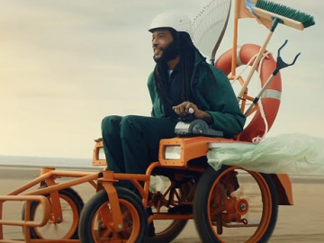 The National Lottery Man in Wheelchair TV Advert