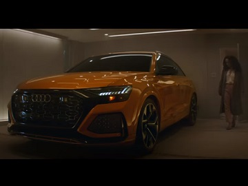 Audi SUV Family Couple & Realtor in Haunted House Commercial