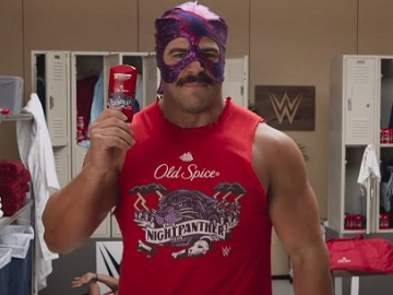 Old Spice Night Panther WWE Locker Room Right Commercial - Feat. Rik Bugez