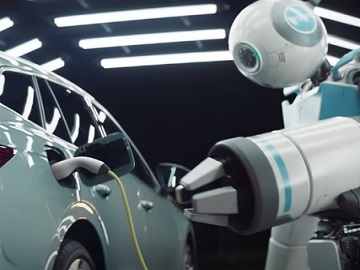 ŠKODA ENYAQ iV SUV Robots Advert / Commercial