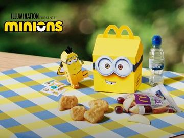 McDonald's Minions Happy Meal Advert