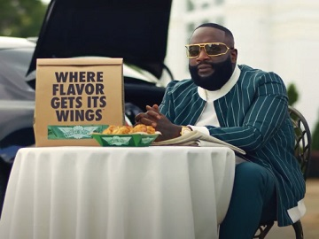 Wingstop Thighstop Rick Ross Commercial