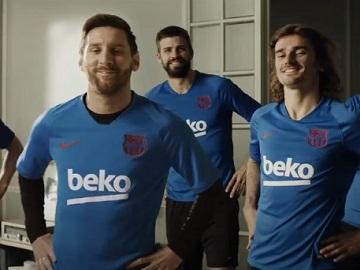 Beko HarvestFresh Advert - Messi FC Barcelona Players eating Carrots