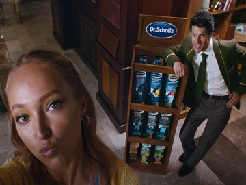 Dr. Scholl's Insole with Massaging Gel Tom Commercial