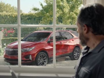 Chevrolet Equinox Red Commercial