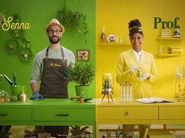 Senokot Laxative Products Commercial - Feat. Mr. Senna & Prof. Kot