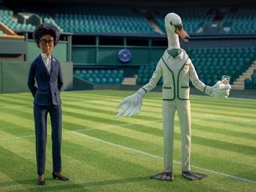 Sipsmith Gin Swan Advert - Wimbledon