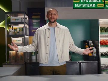 Subway Stephen Curry Commercial