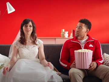 State Farm Runaway Bride & Jake Commercial